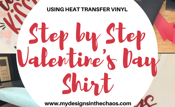 Heat Transfer Vinyl – Easy Valentine's Day Shirt