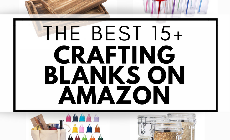 Craft Blanks on Amazon