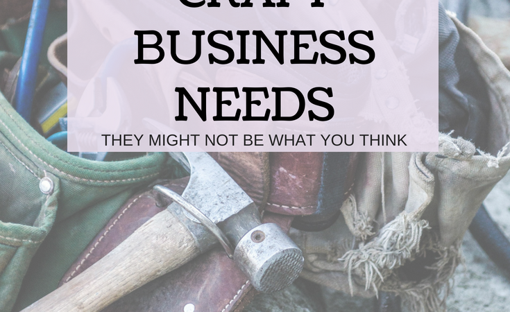 tools for craft business