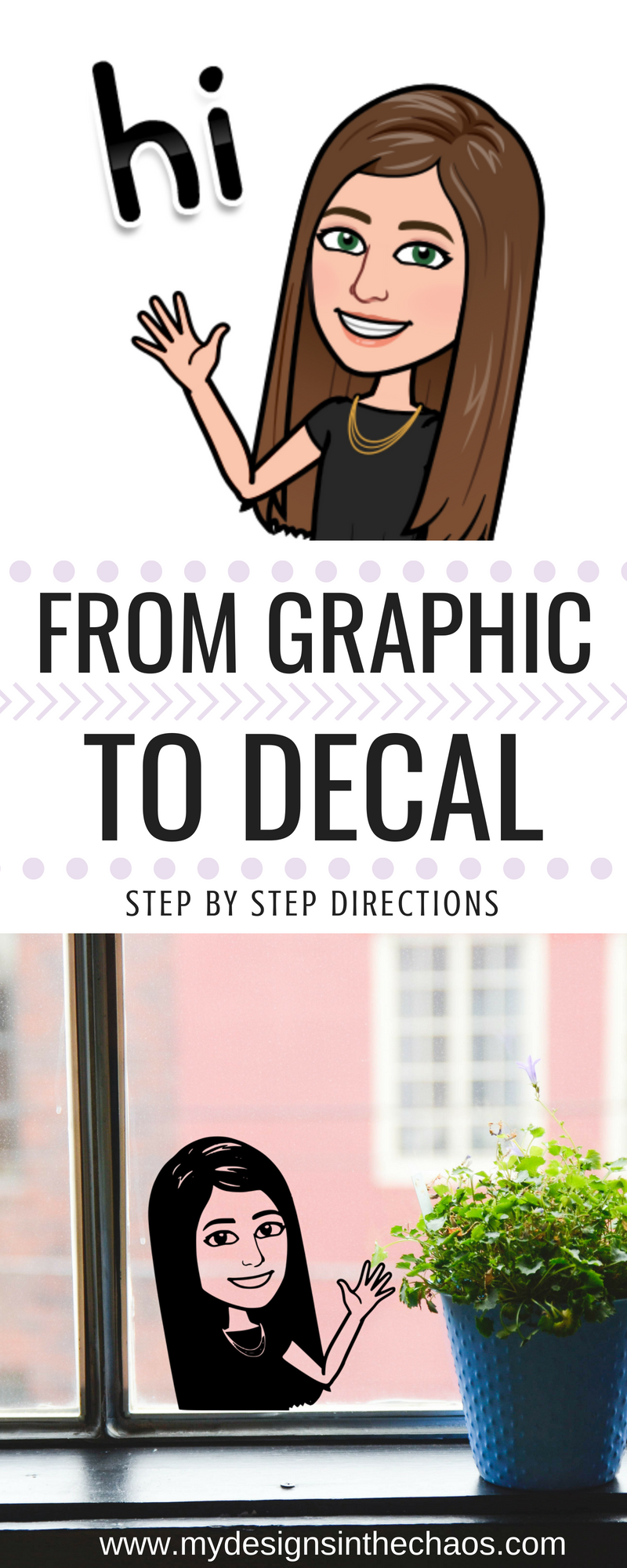 How To Create A Bitmoji Decal My Designs In The Chaos