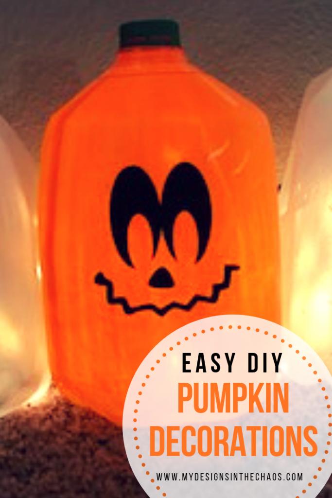 dollar tree pumpkin craft