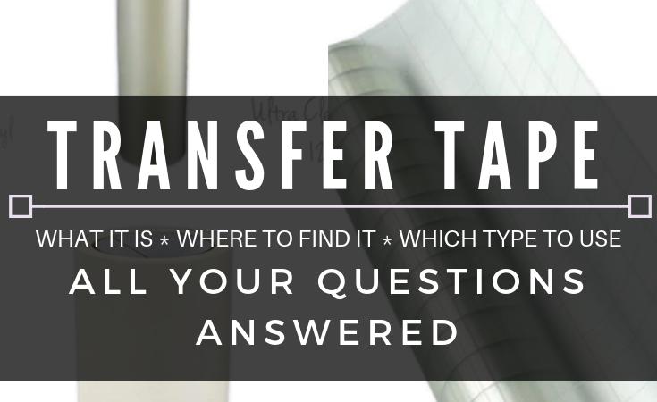 Transfer Tape 101