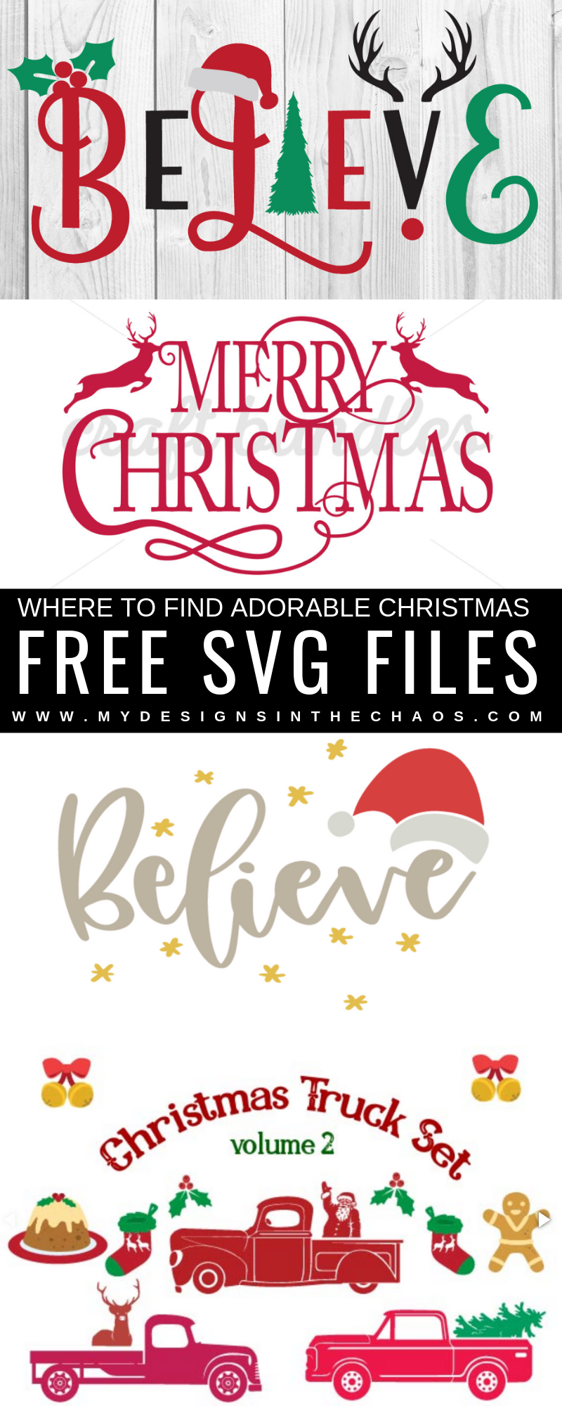 Free Christmas Svg Files My Designs In The Chaos