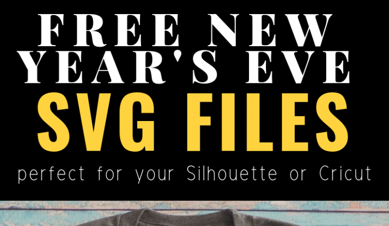 Free New Year's SVG Files