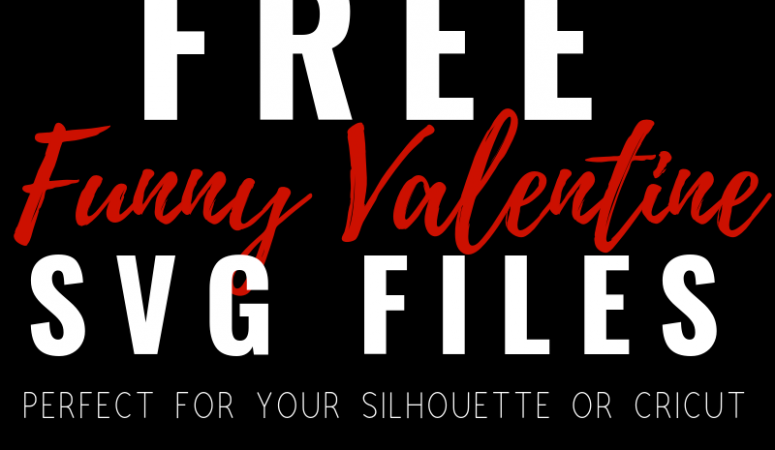 Free Funny Valentine's Day SVG Files