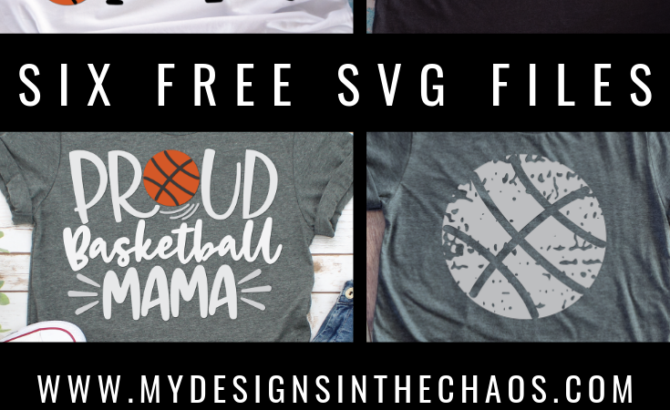 Free Basketball SVG Cutting Files for Silhouette and Cricut