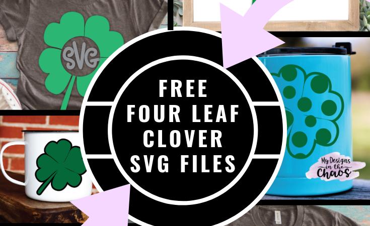 Free Four Leaf Clover SVG Files