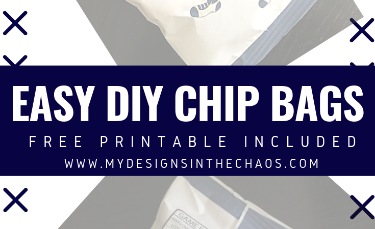 Potato Chip Bag Cover Tutorial