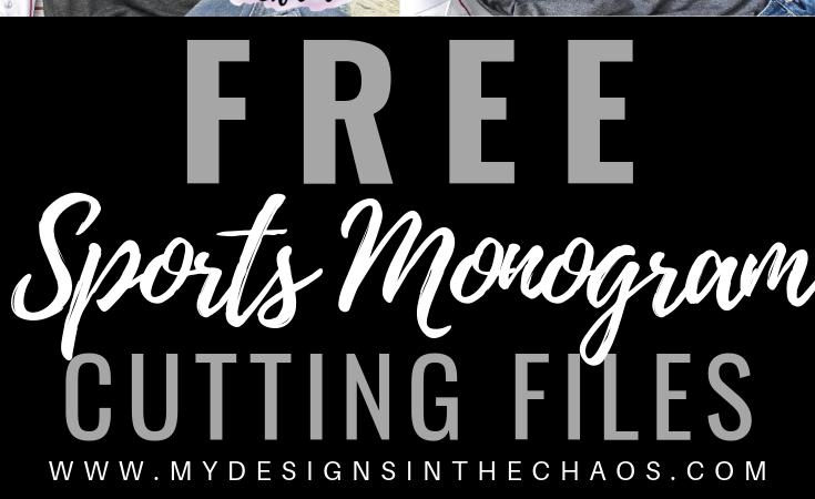 Free Sports Monogram Frames