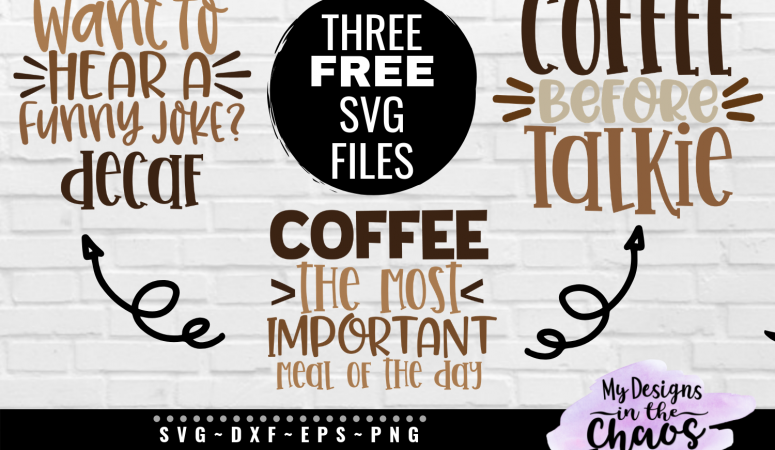 Free Coffee SVG Files