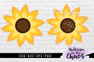 Free Sunflower SVG