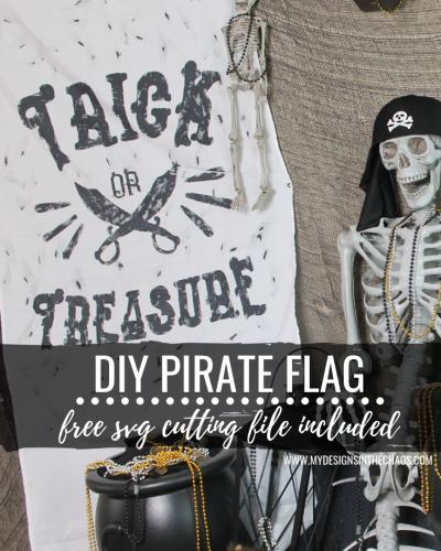 DIY Pirate Flag