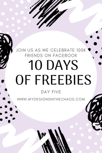 Download Day Five Free Hairdresser SVG File - My Designs In the Chaos