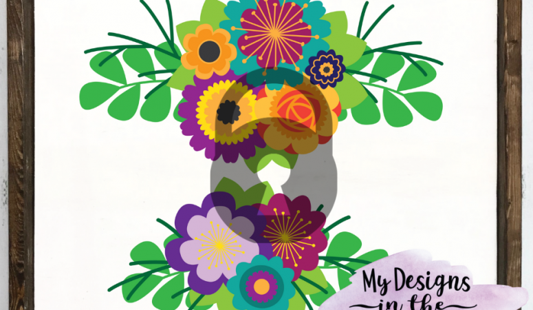 Day Two of Free SVG Files – Floral SVG