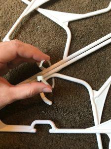 Zip Tie Plastic Hanger Snowflake