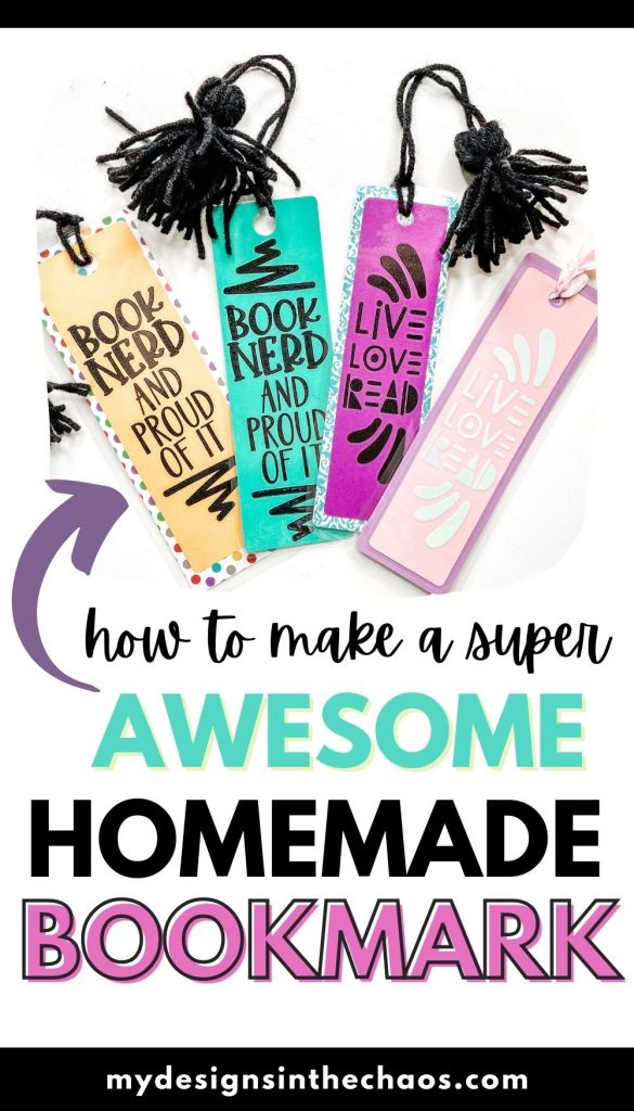 homemade bookmark for all your readers
