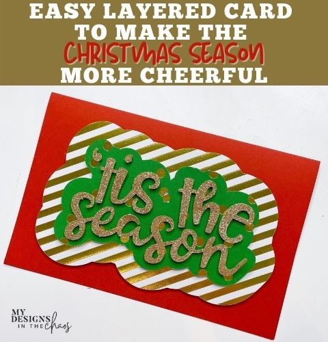 easy layered card