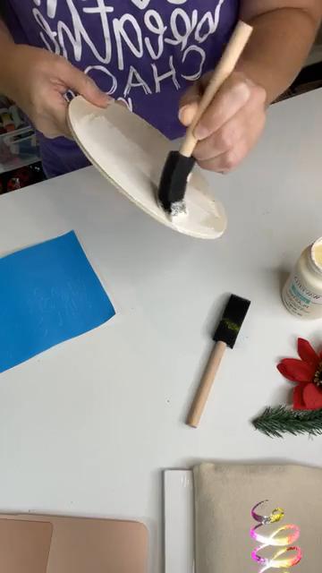 painting tis the season sign