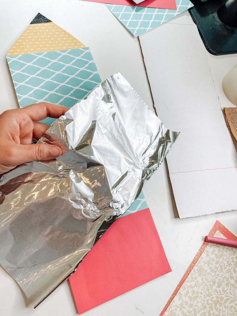 foil for the pencil craft