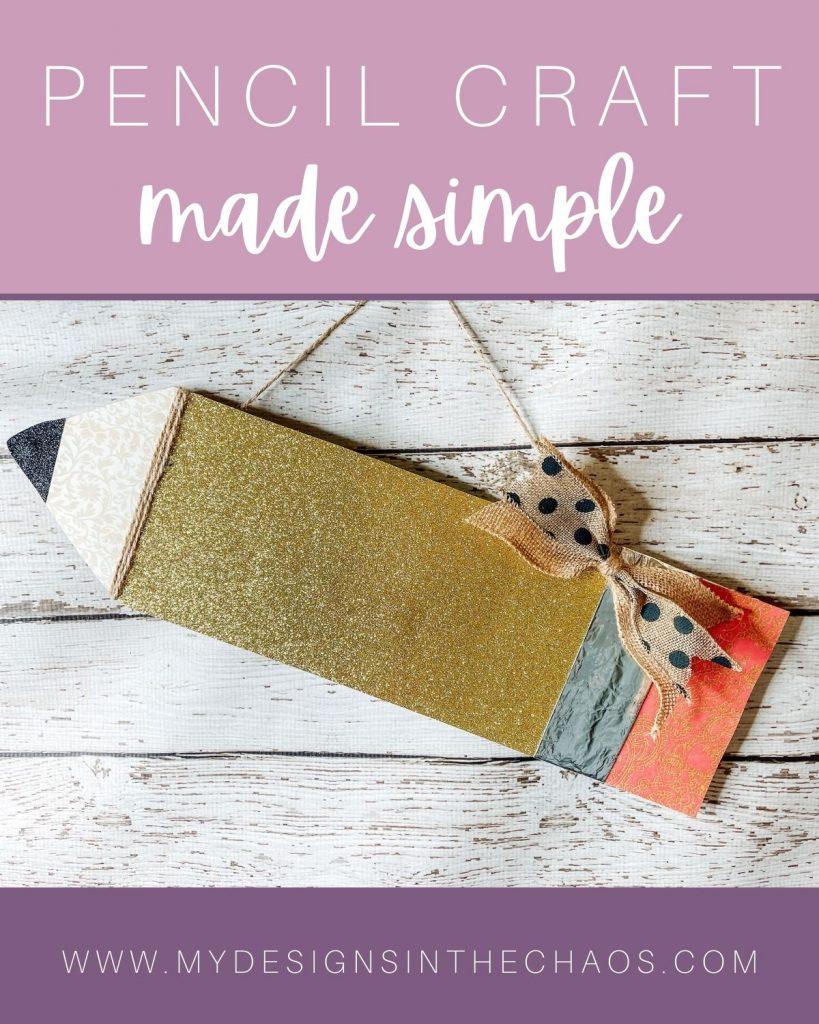 pencil craft made simple