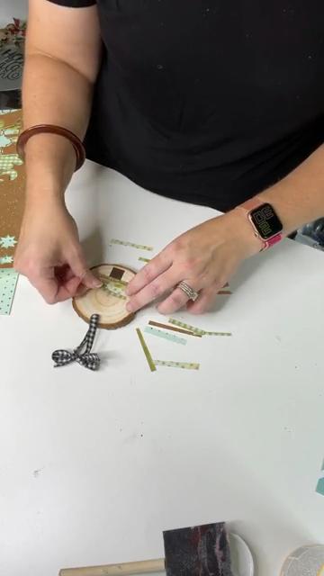 wood slice craft