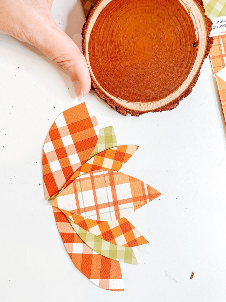 wood turkey craft