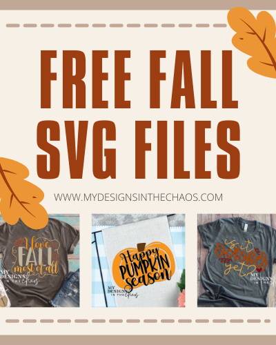 Fall SVG File for Silhouette and Cricut