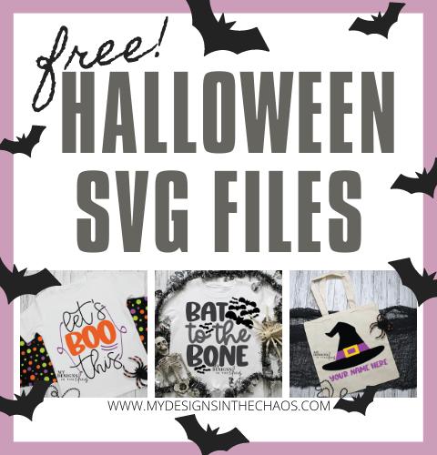 Halloween SVG free files